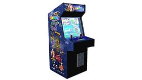 Image of a Full Sized Upright Arcade Game With 412 Classic & Golden Age Games