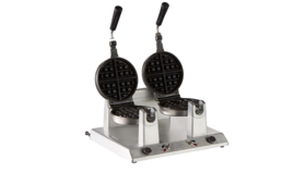 Image of a Double Electric Waffle Iron