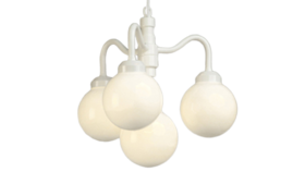 Image of a Chandelier Four Globes
