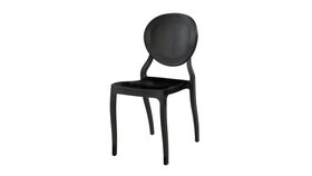 Image of a Black Emma Chair
