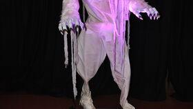 Image of a 7' Towering LED Animatronic Werewolf Halloween Prop