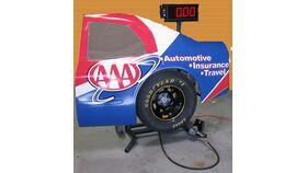 Image of a 1 Player Pit Stop Tire Change Challenge (Half Car) Game