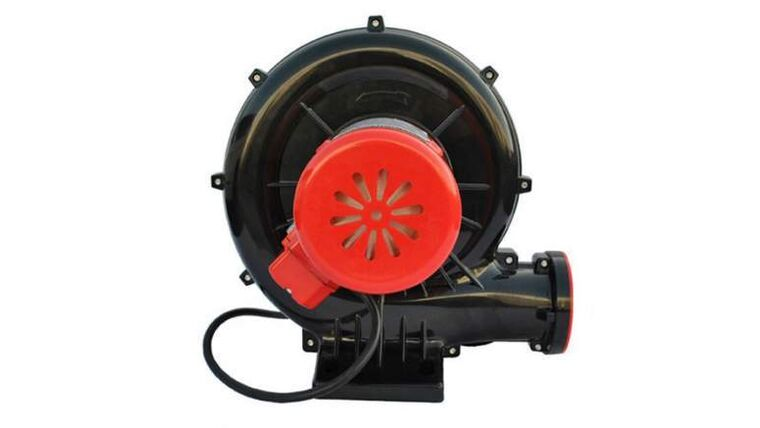 Picture of a 5 HP Inflatable Screen Air Blower