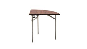 Image of a 1/4 Wood Banquet Table