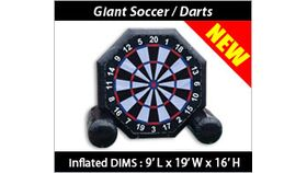 Image of a Darts - Giant Inflatable Darts Game