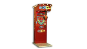 Image of a Punching Bag Arcade Game w/Stand