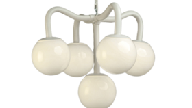 Image of a Chandelier Five Globes