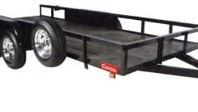 Image of a 16' Flatbed Equipment Trailer