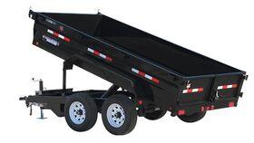 Image of a 5' x 10' - 4 Yard Hydraulic Dump Trailer