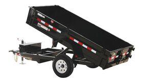 Image of a 8' x 5' - 2 Yard Hydraulic Dump Trailer