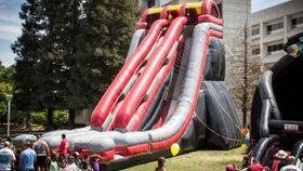 Image of a Slidezilla Inflatable Game