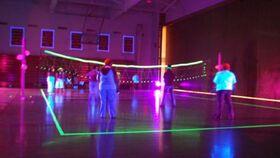 Image of a LED Illuminated Volleyball Set
