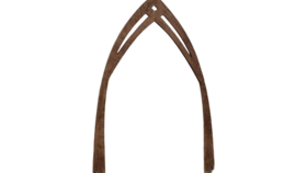 Image of a Rustic Wood Cathedral Arch