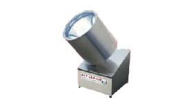 Image of a 1 Head Polished Aluminum Search Light