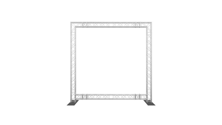 Picture of a 10' x 10' F24 Goal Post Truss