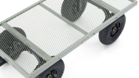 Image of a Steel Garden Cart, 1,000 lb. Capacity