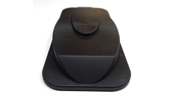 Picture of a Black Faby Bowl Lid For Frozen Drink Machine