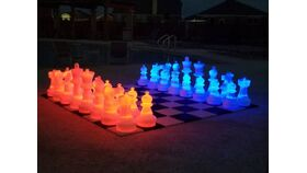 Image of a 25 Plastic LED Giant Chess Set