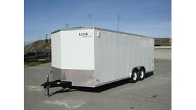 Image of a 8' x 20' x 7.5' Enclosed Car Trailer