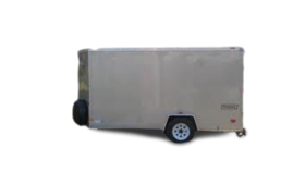 Image of a 6' x 12' Green Room Trailer