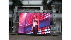 Image of a 9' x 12 LED Video Screen Package
