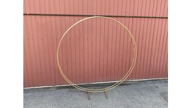 Image of a Round Gold Arch