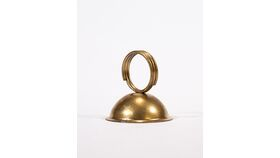 "Image of a Table Number Holder - 2"" Gold Bell"