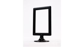 Image of a Table Number Holder - 4x6 Black Pedestal