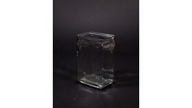 "Image of a 2""x3""x6"" Rectangle Vase"