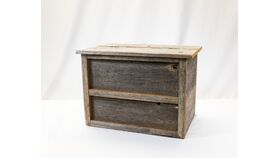 Image of a Barn Board Box - Reception Card Holder
