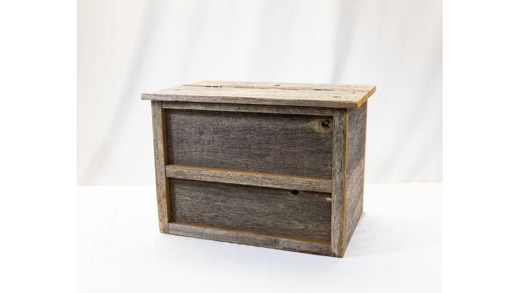 Picture of a Barn Board Box - Reception Card Holder