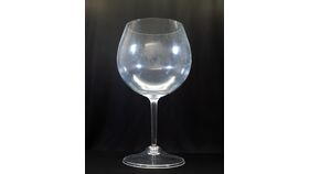 Image of a Jumbo Wine Glass - Reception Card Holder