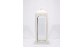 "Image of a Reception Card Holder - 37"" - Off White Lantern"