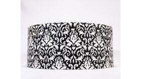 Image of a Hat Box - Black and White