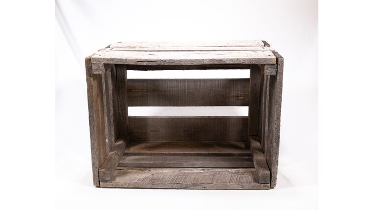 Picture of a Rustic Crate - Natural