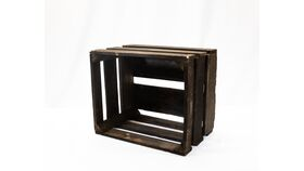 Image of a Rustic Crate - Dark Stained