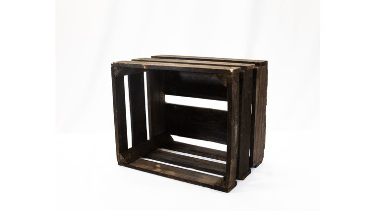 Picture of a Rustic Crate - Dark Stained