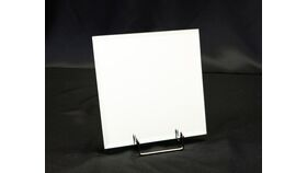 "Image of a 12"" Square Beveled Mirror"