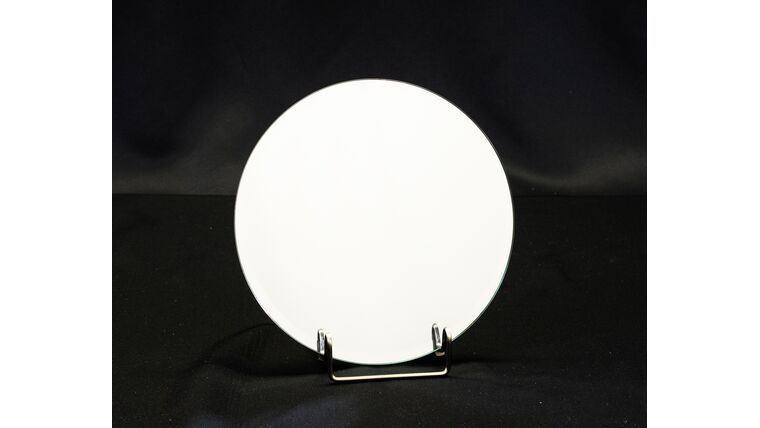 """Picture of a 8"""" Round Beveled Mirror"""