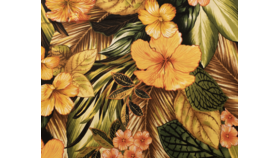 """Image of a 45""""X45"""" Overlay - Hawaiian Print"""