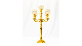 """Image of a 24"""" Bling Candelabra - Bright Gold"""