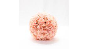 """Image of a 10"""" Hygrandea Ball - Cream/Blush"""