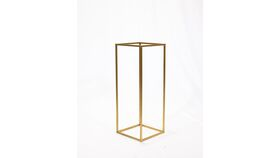 """Image of a Harlow Stand - Gold - 23"""""""