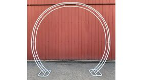 Image of a Arch - Round - White