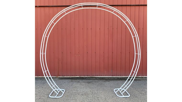 Picture of a Arch - Round - White