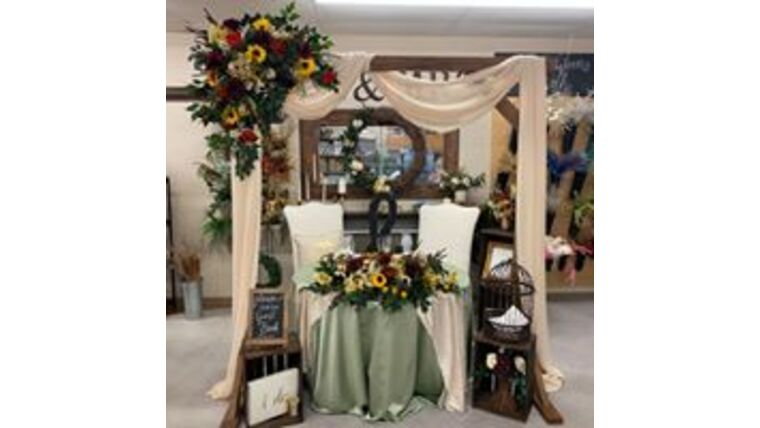 Picture of a Medium Stained Wooden Arch