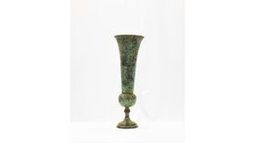 Image of a Green Patina Urn