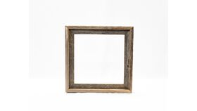 Image of a Barn Board Frame - Square