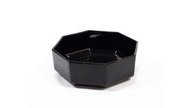 Image of a Black Octagon Dish