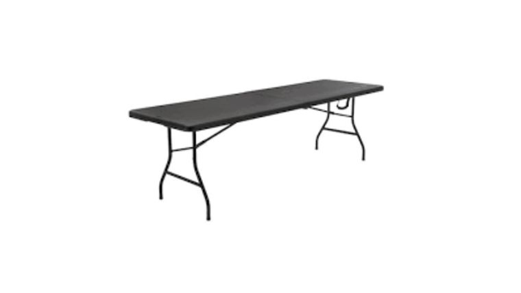 Picture of a 8' Folding Plastic Banquet Table